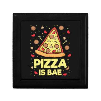 Boîte À Souvenirs La pizza est Bae - bande dessinée drôle mignonne