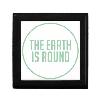 Boîte À Souvenirs La terre est ronde