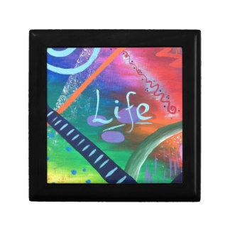 Boîte À Souvenirs La VIE - beauté chaotique colorée !