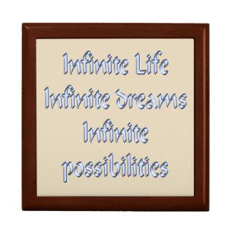 Boîte À Souvenirs La vie infinie, rêves infinis, infinis…