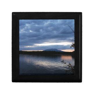Boîte À Souvenirs Lac Maine Katahdin Millinocket de bâti au