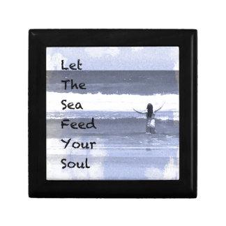 Boîte À Souvenirs Laissez la mer alimenter votre boîte de bibelot