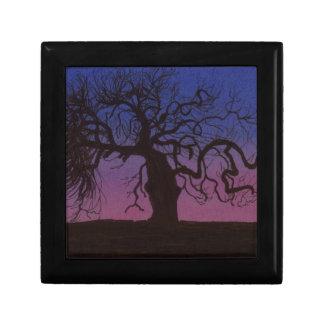 Boîte À Souvenirs L'arbre Gnarly