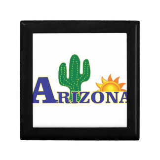 Boîte À Souvenirs l'Arizona bleu
