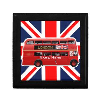 Boîte À Souvenirs L'autobus rouge de Londres