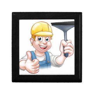 Boîte À Souvenirs Laveur de vitres avec la racle