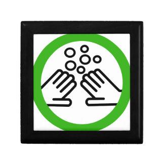 Boîte À Souvenirs Lavez-vous les mains