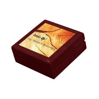 Boîte À Souvenirs Le bois sec est nécessaire