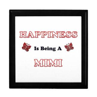 Boîte À Souvenirs Le bonheur est A Mimi