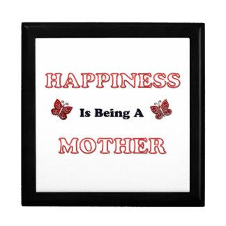 Boîte À Souvenirs Le bonheur est une mère