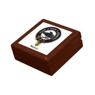 Boîte À Souvenirs Le clan d'Akins crest la boîte de souvenir de
