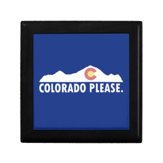 Boîte À Souvenirs Le Colorado svp