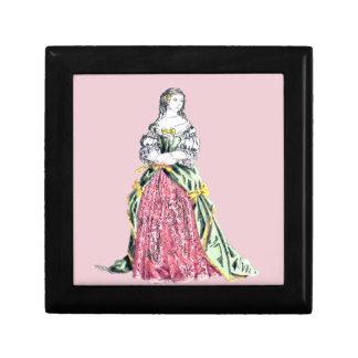 Boîte À Souvenirs Le ~ COSTUME le ~ 1663 de ~ de Comtesse de Grignan