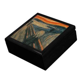 Boîte À Souvenirs Le cri perçant par Edvard Munch