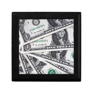 Boîte À Souvenirs Le dollar note 1 dollar