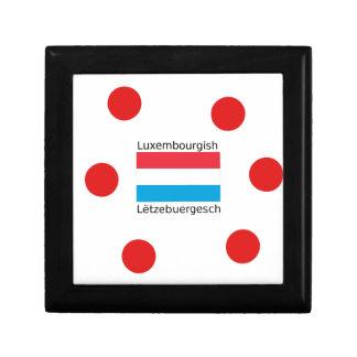 Boîte À Souvenirs Le Luxembourg diminuent et conception
