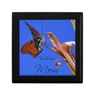 Boîte À Souvenirs Le meilleur papillon de la maman du monde