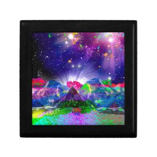 Boîte À Souvenirs Les couleurs et les étoiles allument la nuit