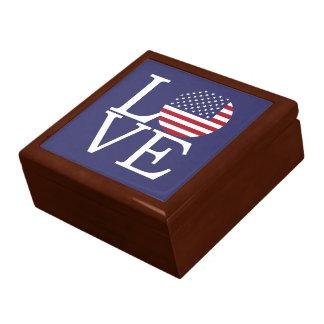 Boîte À Souvenirs Les Etats-Unis diminuent