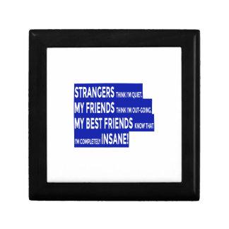 Boîte À Souvenirs Les vrais amis rectifient l'amitié