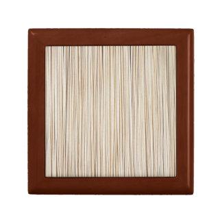 Boîte À Souvenirs Lignes en bois abstraites mignonnes conception