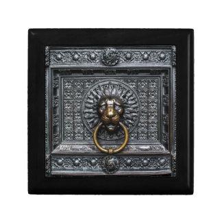 Boîte À Souvenirs Lion de heurtoir - noir/or