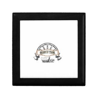 Boîte À Souvenirs logo de chariot de traînée de l'Orégon