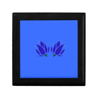 Boîte À Souvenirs Lotus bleus