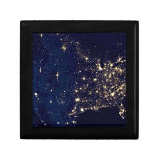 Boîte À Souvenirs Lumières de ville des Etats-Unis