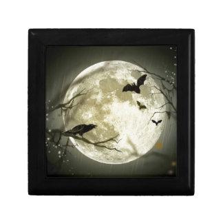 Boîte À Souvenirs lune de Halloween