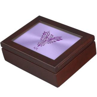 Boîte À Souvenirs Ma boîte d'inspirations - augmentation pourpre de