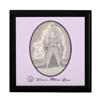 Boîte À Souvenirs Madame de la boîte d'autel de déesse de lac