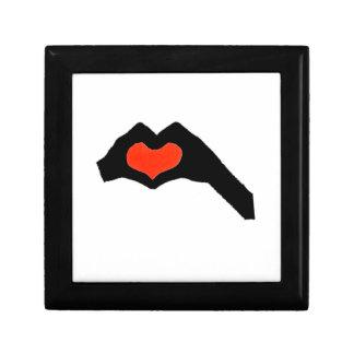 Boîte À Souvenirs main heart2