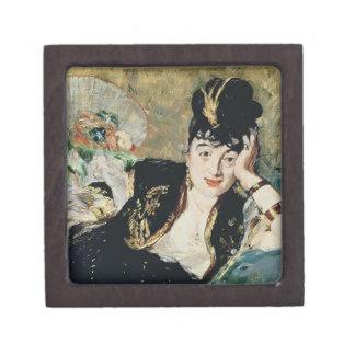 Boîte À Souvenirs Manet | Madame avec des fans