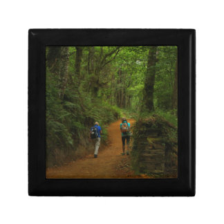 Boîte À Souvenirs Marcheurs de forêt, EL Camino, Espagne