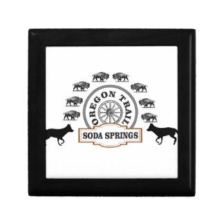 Boîte À Souvenirs marqueur d'ot de Soda Springs