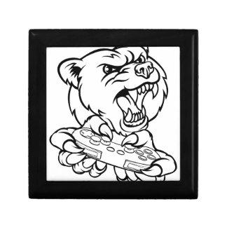 Boîte À Souvenirs Mascotte de Gamer d'ours