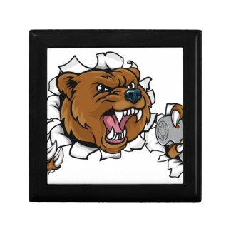 Boîte À Souvenirs Mascotte fâchée d'Esports d'ours
