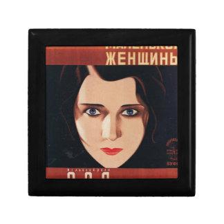Boîte À Souvenirs Mauvaise jeune femme russe