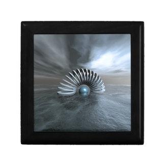 Boîte À Souvenirs Mer congelée surréaliste