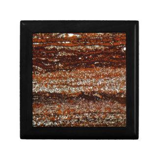 Boîte À Souvenirs Minerai de fer sous le microscope