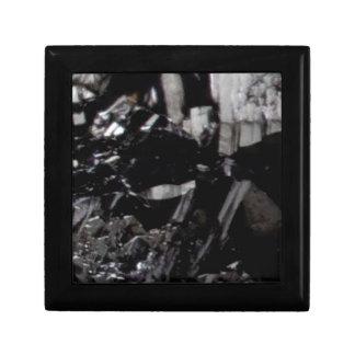 Boîte À Souvenirs minerai noir d'éclat