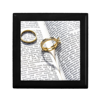 Boîte À Souvenirs Ministère chrétien de bible de mariage
