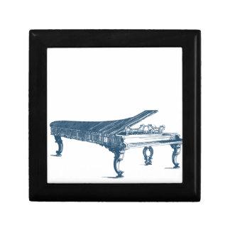 Boîte À Souvenirs Miscellaneous - Blue Vintage: Piano