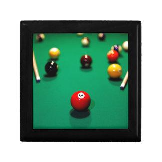 Boîte À Souvenirs Miscellaneous - Pool Table Patterns Nine
