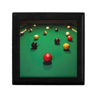 Boîte À Souvenirs Miscellaneous - Pool Table Patterns Seven