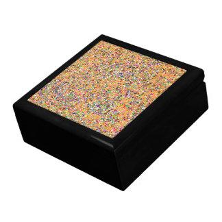 Boîte À Souvenirs Mode #2 de peinture multicolore de parties