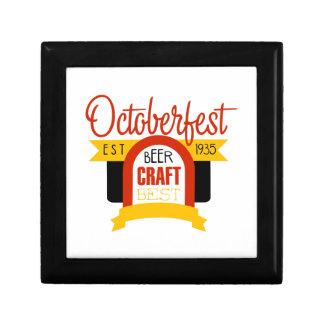 Boîte À Souvenirs Modèle de conception de logo d'Oktoberfest