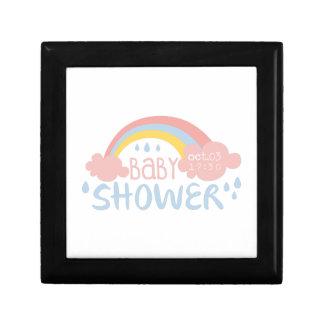 Boîte À Souvenirs Modèle de conception d'invitation de baby shower