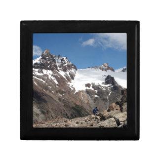 Boîte À Souvenirs Montagnes de parc national de glacier, Argentine 2